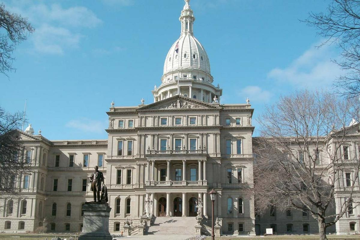 Michigan Capitol Building, Lansing, Mich.