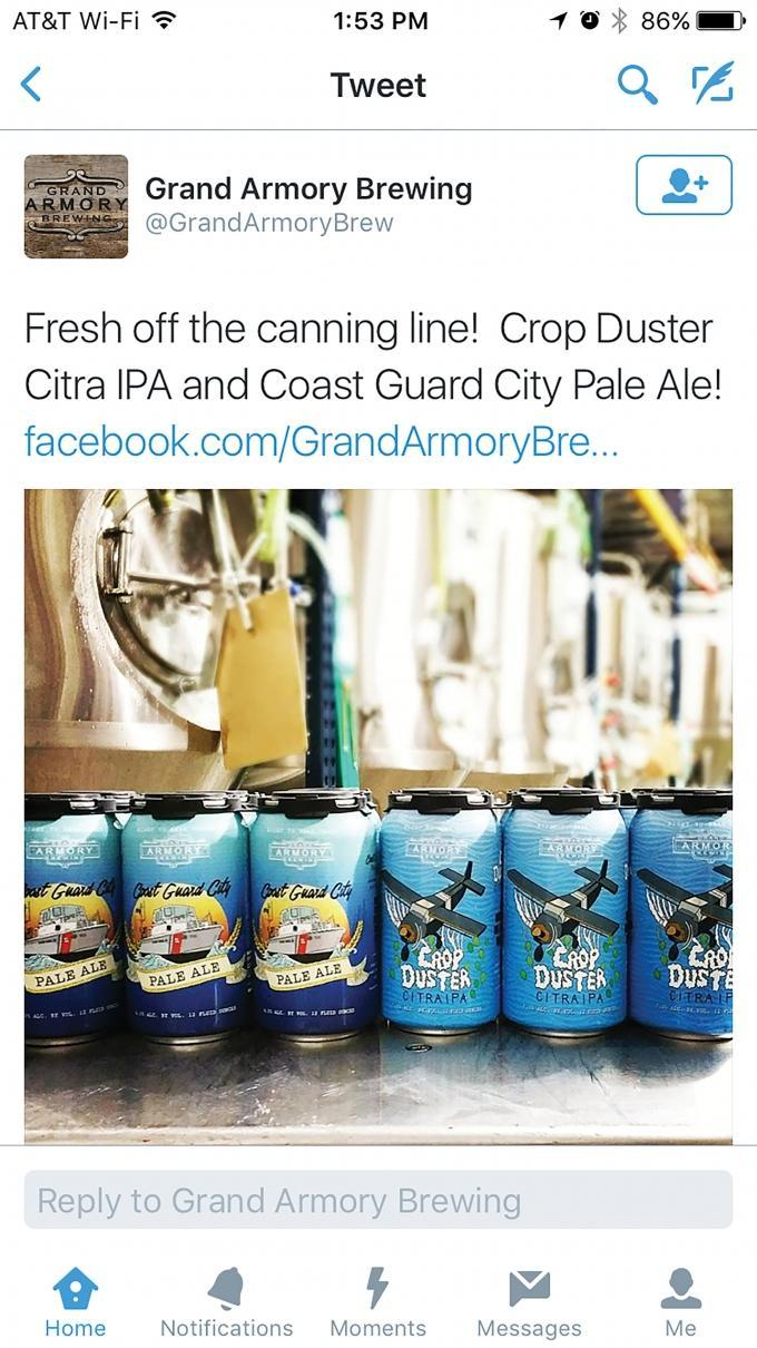 Homeland Security takes action against Grand Armory Brewing over