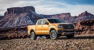Ford plans to re-enter the midsize pickup market for the first time since 2011. The new Ranger features just one four-cylinder powertrain. Unlike the full-size F-150, the Ranger will feature a steel body.