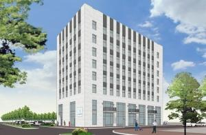 Parkland Properties' plans to develop the former Comerica building into apartments