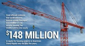 Federal Low Income Housing Tax Credits fuel expansion of downtown Grand Rapids