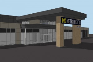 Metro Health starts construction on new outpatient clinic in Allendale