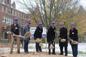 Samaritas has started on a $16.2 million project at St. Joseph Seminary in the Garfield Park neighborhood of Grand Rapids. The nonprofit plans to turn the site into 53 apartments for people aged 55 and older.