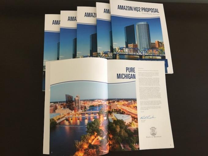 West Michigan's pitch for Amazon HQ2 project included over $2 billion in state, local incentives