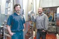 "Rockford Brewing Co. founders Jeff Sheehan, left, and Seth Rivard, right, used an SBA 504 loan to start the brewery. ""It was an obvious choice for us. Frankly, I don't know that we could have gotten a loan otherwise,"" Rivard said."