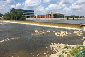The removal of the Sixth Street Dam on the Grand River in downtown Grand Rapids will come during the second phase of the Grand Rapids Whitewater project.
