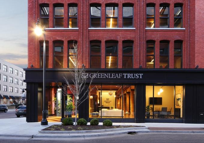 Sponsored Content: Greenleaf Trust Bridges Corporate Culture and Family Values in First Grand Rapids Space