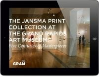 The Grand Rapids Art Museum worked with Conduit Studios to develop an iPad app to help broaden the reach of the museum's collection.
