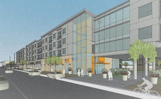 Third Coast Development LLC plans to develop the mixed-use Diamond Place project at the current site of Proos Manufacturing on Michigan Street in Grand Rapids. The developer expects to work with architecture firm Progressive AE and Pioneer Construction Co. for Diamond Place, which includes 168 residential units and ground-floor commercial space. Third Coast aims to secure a grocery tenant at the site.