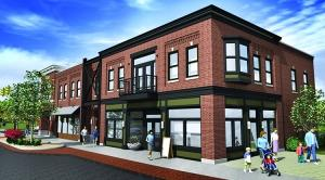 Stakeholders in Ada's downtown hope that broad-based infrastructure investment and a focus on new, mixed-use development will lead to a new feel for the historic village. General contractor First Companies will construct one of the earliest buildings, which will house an architecture firm and interior design business.