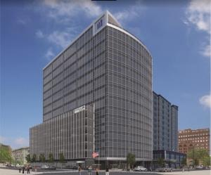 Orion Construction breaks ground on planned Warner Norcross tower