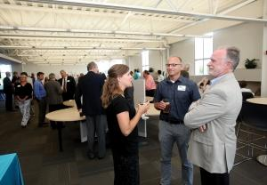 Grand Valley State University rebranded the former Michigan Alternative and Renewable Energy Center as the Muskegon Innovation Hub in an attempt to better market the facility and attract new tenants and clients with programs and services.