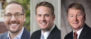(L-R): Ryan Schmidt, Inner City Christian Federation; Jared Belka, Warner Norcross & Judd LLP; Kevin Rogers, PNC Bank.