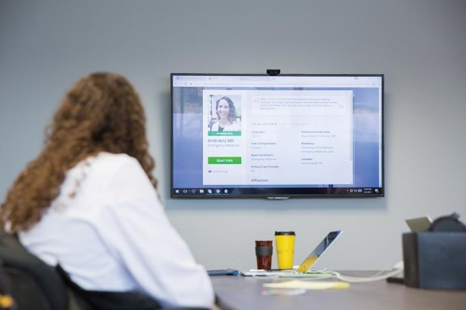 In January, Answer Health on Demand began working with Grand Valley State University's College of Health Professions to introduce physician assistant students to telemedicine.
