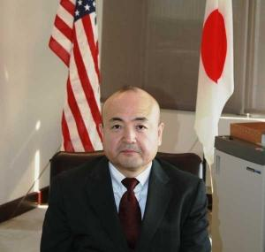 Kazuyuki Katayama, the Consul-General of Japan