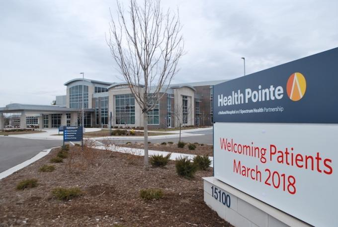 Spectrum Health, Holland Hospital to open Health Pointe in Grand Haven next week