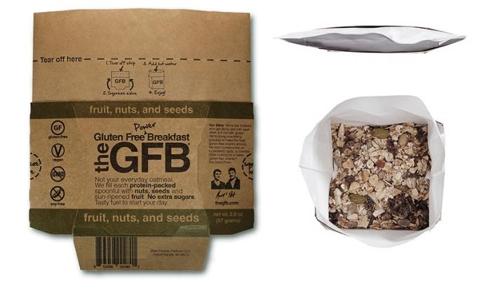 The Gluten Free Bar's new product line of oatmeal, dubbed Power Breakfast, caters to consumers wanting a portable and healthy meal option. The product is part of the company's larger strategy to appeal to people who may not have gluten intolerance.
