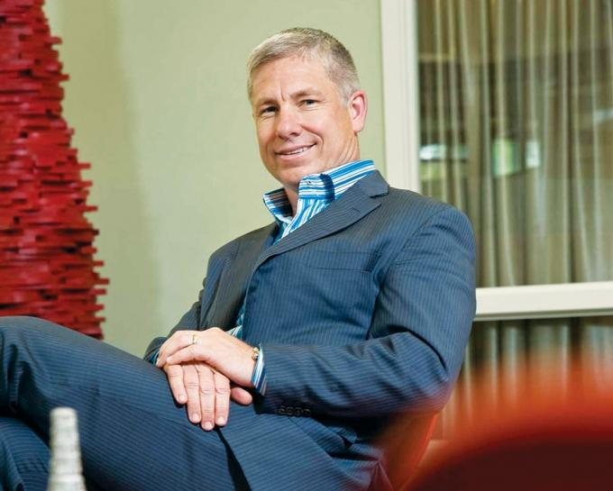 Brian Walker, President and CEO of Herman Miller Inc.