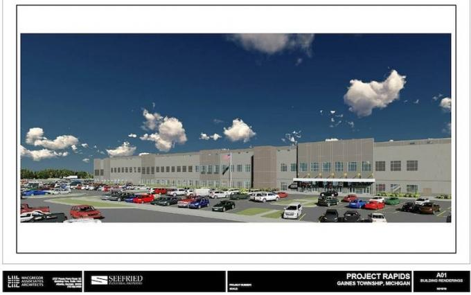 Gaines Township planners sign off on distribution facility linked to Amazon.com