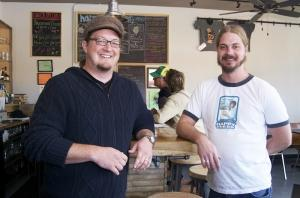 Barry VanDyke and Jackson VanDyke of Harmony Brewing Co.