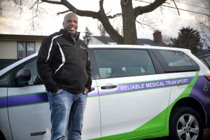 Rich Flowers, founder of Grand Rapids-based Reliable Medical Transport LLC, faced challenges in securing growth financing for his business because of his poor credit history. The entrepreneur is working with alternative lender Northern Initiatives on a $250,000 loan to add more vehicles to his non-emergency medical transportation fleet.