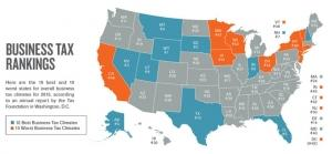 Michigan holds steady at 13th in national tax rankings