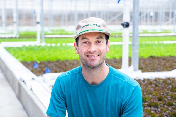 'Farming Revolution:' Producer finishes first aquaponics harvest, advocates for more locally-grown food