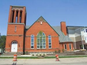 Historic church gets  new life as apartments