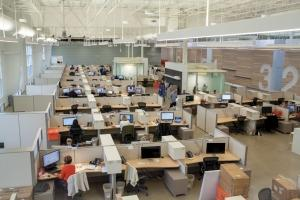 Newell Rubbermaid opened its design center at the Business Technology and Research Park on Western Michigan University's campus in Kalamazoo to tap into the pool of industrial designers in the region.