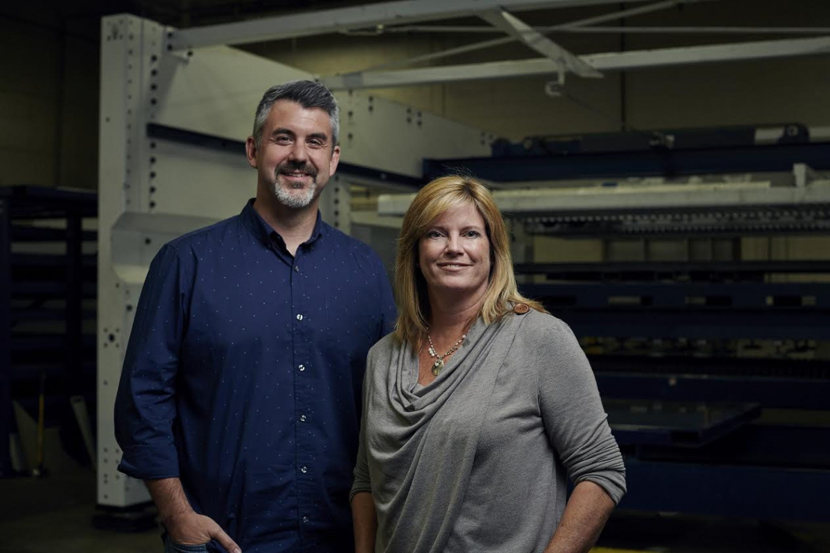 Bryan Howard and Amy Proos, Proos Manufacturing.