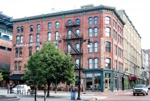 Rather than hinder development, historic preservation districts actually help make many renova- tion projects possible, said Sam Cummings, a veteran Grand Rapids developer who's worked on dozens of historic projects. For the Lemon-Wheeler building, Cummings was able to compromise with Grand Rapids building officials on some code compliance issues like egress, preserving the building's historic character and the economics of the redevelopment project.