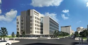 A joint venture of Clark Construction Co. and Rockford Construction will oversee the building of the $83.1 million Biomedical Research Center Michigan State University proposed for the former Grand Rapids Press property on Michigan Street in Grand Rapids.