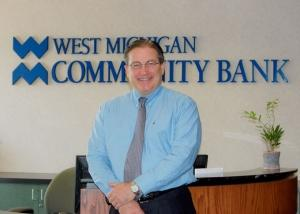 Phil Koning, president and CEO of West Michigan Community Bank.