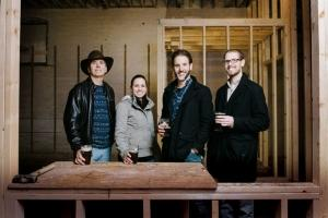 Newaygo Brewing Co.'s Scott Looman, Krista Looman, Nick Looman and Eric Looman.