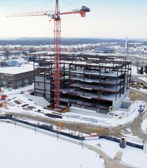 GVSU library project pushes LEED envelope