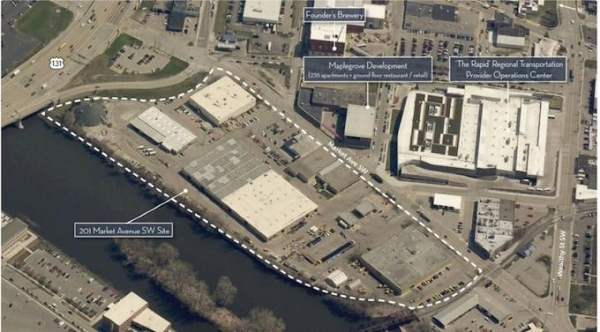 Grand Rapids hires firm to study feasibility of relocating from 201 Market
