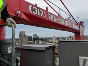 Reporter's Notebook: Construction crane vantage offers new views of GR's expansion