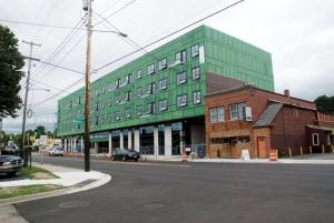 Citing strong demand for multifamily housing in the Grand Rapids market, 616 Development LLC has announced plans for a handful of new mixed-use residential and retail projects around the city, including the 616 Lofts on Michigan, shown here.