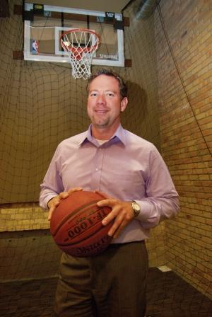 Steve Groenink, managing director of Grand Rapids-based Lambert, Edwards & Associates Inc., said the corporate communications and investor relations firm wanted to include playful elements such as a basketball hoop and Scrabble board when it moved into its new offices in Grand Rapids.