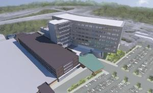 Mercy Health has proposed a $220 million project in Muskegon that includes a nine-story patient tower and extensive renovations to nearly every patient-care area in the hospital.