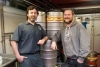 Rockford Brewing Co.'s Jeff Sheehan, left, and Seth Rivard, right.