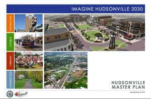 Cover image of Hudsonville's Imagine 2030 Master Planning Document