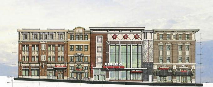 Movie theater, entertainment district planned for downtown Holland