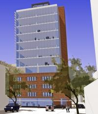 Architectural rendering of the 12 Weston Project, which is being developed by Sibsco and Rockford Construction. Lott 3 Metz Architecture is the lead architect on the project.