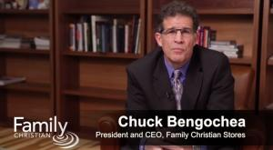 Family Christian President and CEO Chuck Bengochea speaks in a video the company posted about the company's restructuring.