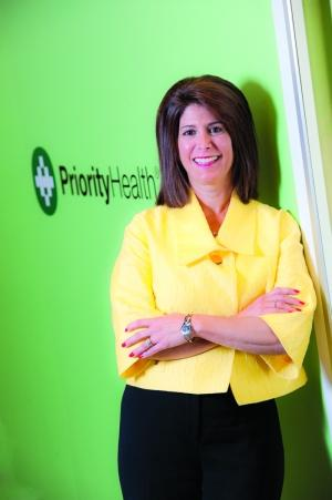 CRYSTAL BALL: Joan Budden, incoming president and CEO, Priority Health
