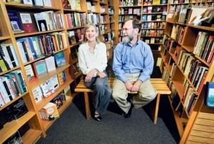 Schuler Books owners Cecile and Bill Fehsenfeld will close the company's Eastwood Towne Center location in February after 15 years at the site.