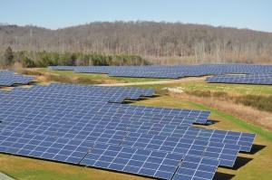 The city of Grand Rapids secured federal and state grants for a feasibility study to look at the construction of a large-scale solar array at the former Butterworth Landfill site, perhaps similar to the solar park Volkswagen installed at its Chattanooga, Tenn. manufacturing facility this year.