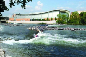 With $4.4 million in new public and foundation funding announced this month, the Grand Rapids Whitewater nonprofit has now raised about 71 percent of its overall $44.6 million fundraising goal.