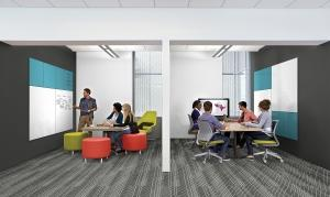 Steelcase filed for a tariff exemption for specialized porcelain-enameled steel that the company sources from Japan for use in whiteboards made by its Georgia-based PolyVision division.